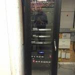 Rack system for large AV system