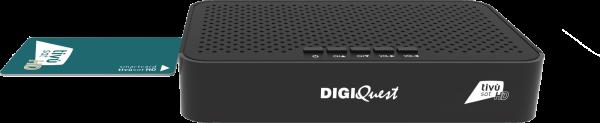 Digiquest Decoder Tivùsat Classic Q20 Black (Activation Card Included)